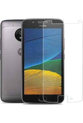 Microcase Motorola Moto G5 Plus 5.2 Tempered Glass Cam Ekran Koruma