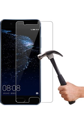 Microcase Huawei P10 Plus 5.5 Tempered Glass Cam Ekran Koruma