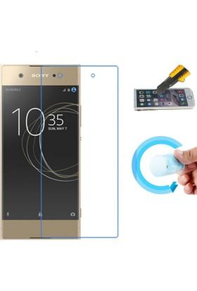 Microcase Sony Xperia XA1 Nano Glass Esnek Cam Ekran Koruma