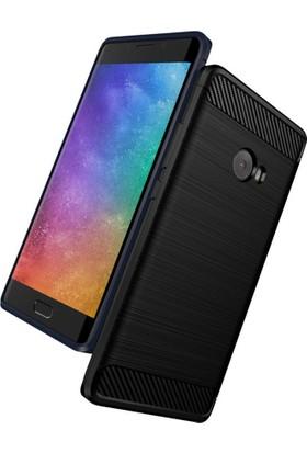 Microcase Xiaomi Mi Note 2 Brushed Carbon Fiber Silikon TPU Kılıf