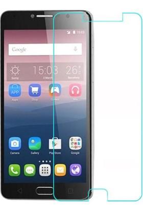 Microcase Alcatel Pop 4S 5.5 Tempered Glass Cam Ekran Koruma