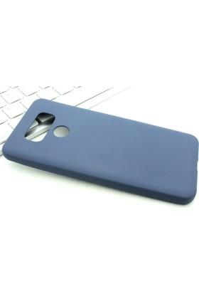 Microcase LG G6 Premium Mat Silikon Kılıf+Tempered Cam