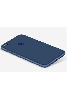 Microcase Huawei P9 Lite 2017 Premium Mat Silikon Kılıf+Tempered Cam