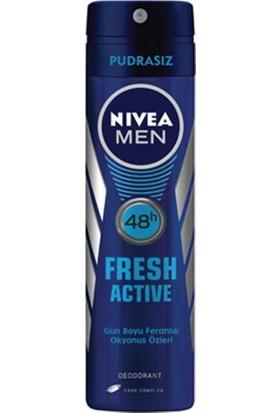 Nivea Deo 150Ml Men Fresh Actıve Erkek Parfüm