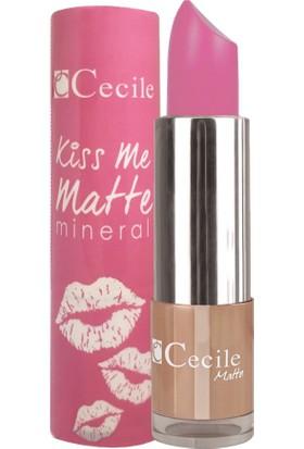 Cecile Mineralli Mat Ruj / Kiss Me Matte Mineral 301