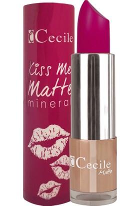 Cecile Mineralli Mat Ruj / Kiss Me Matte Mineral 303
