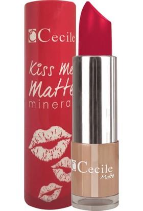 Cecile Mineralli Mat Ruj / Kiss Me Matte Mineral 305