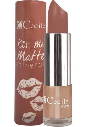 Cecile Mineralli Mat Ruj / Kiss Me Matte Mineral 306