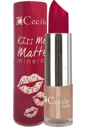 Cecile Mineralli Mat Ruj / Kiss Me Matte Mineral 307