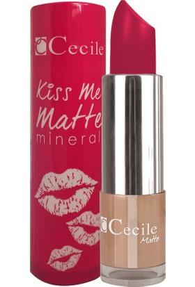 Cecile Mineralli Mat Ruj / Kiss Me Matte Mineral 308