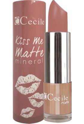 Cecile Mineralli Mat Ruj / Kiss Me Matte Mineral 313