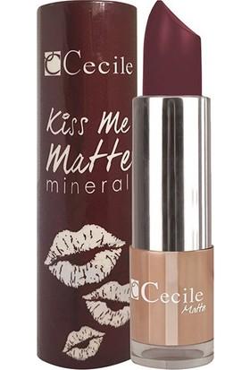 Cecile Mineralli Mat Ruj / Kiss Me Matte Mineral 316