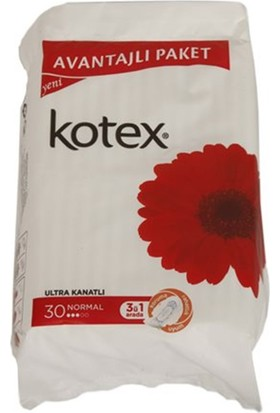 Kotex Ultra Trıple Normal 30 Lu