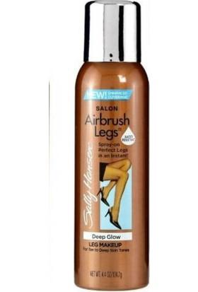 Sally Hansen Airbrush Legs - Deep Glow - Sprey Bacak Makyajı - Koyu Bronz