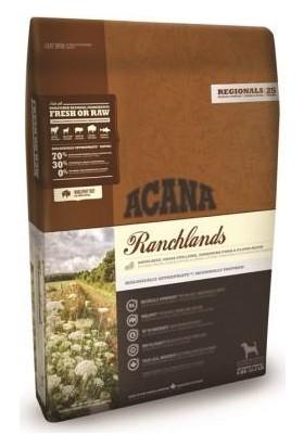 Acana Ranchlands -Sığır Etli Tahılsız Köpek Maması 2Kg