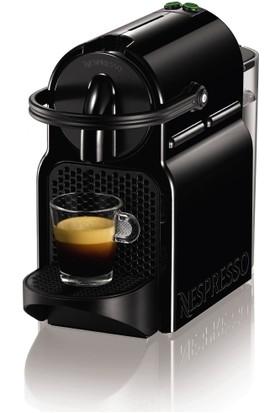 Nespresso İnissia D40 Black Kahve Makinası Siyah