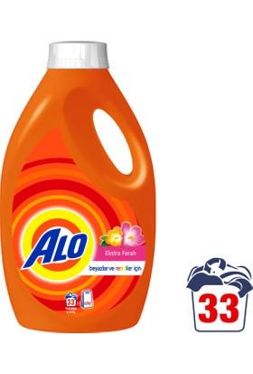 Alo Sıvı Çamaşır Deterjanı Ekstra Ferah Bahar 33 Yıkama Beyazlar ve Renkliler İçin