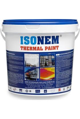 İsonem Thermal Paint İç ve Dış Cephe Isı Yalıtım Boyası 18 L