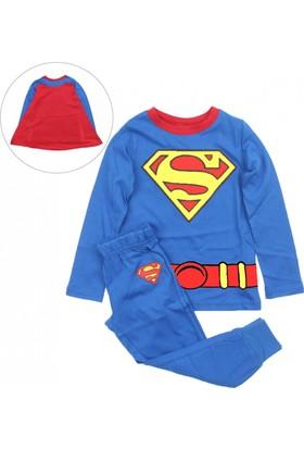 Modakids Erkek Çocuk Süpermen Pijama Takım 019 - 4550-015
