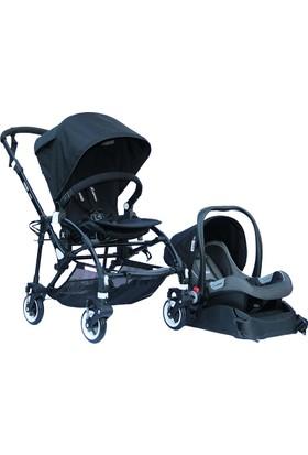 Yoyko Easyo Travel Sistem Bebek Arabası Siyah