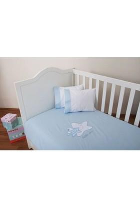 Maya Baby Collection Little Star Nevresim Takımı Mavi