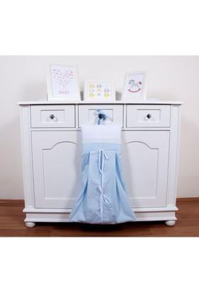 Maya Baby Collection Prince Çamaşır Torbası Mavi