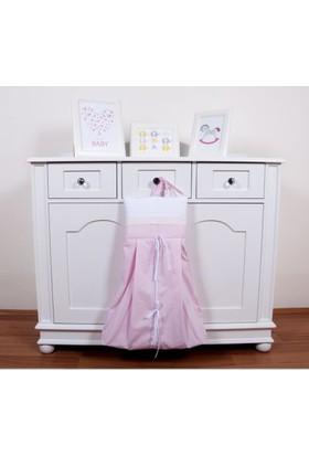 Maya Baby Collection Princess Çamaşır Torbası Pembe