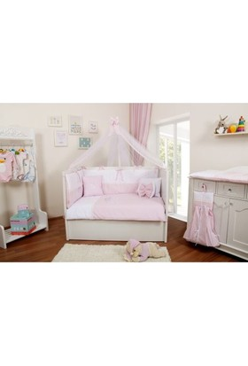 Maya Baby Collection Princess Uyku Seti 80 x 140 Pembe
