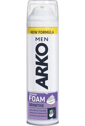 Arko Men Tıraş Köpüğü Extra Sensitive 200 Ml