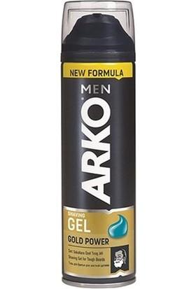 Arko Men Tıraş Jeli Gold Power 200 Ml