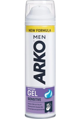 Arko Men Tıraş Jeli Extra Sensitive 200 Ml