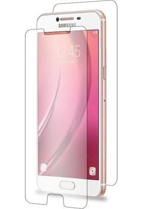 Kılıfshop Samsung Galaxy C5 Ön Arka Ekran Koruyucu Kaplama