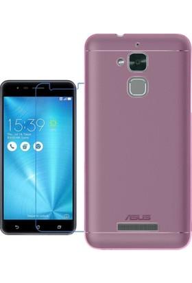 Kılıfshop Asus Zenfone 3 Max Zc520Tl Silikon Kılıf + Ekran Koruyucu
