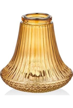 The Mia Agni Mumluk Cam 16 Cm - Gold