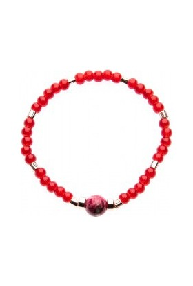 Elle No:037 Bayan Bileklik Kırmızı