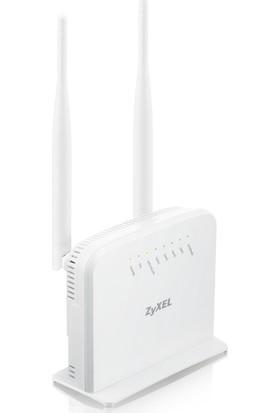 Zyxel P1302-T10D v3 300Mbps Kablosuz 4-Port 2x5dBi Antenli WPS ADSL2+ Modem/Router