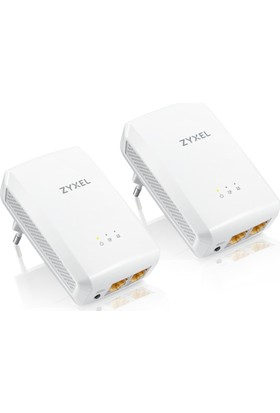 Zyxel PLA5206 v2 Kit 1000 Mbps 2 Gigabit Portlu Powerline Kit