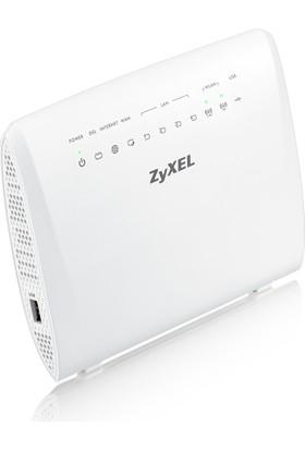 Zyxel VMG3925-B10B AC1600 2.4GHz&5GHz Kablosuz 5-Port 1xUSB WPS Gigabit EWAN Fiber Destekli VDSL2/ADSL2+ Gigabit Modem/Router