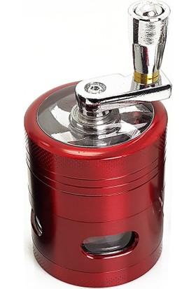 Dreamliner Mini Boy Kırmızı 40 Mm. Çelik Grinder Tütün Parçalayıcı Pt97Kr