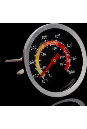 Weather Forecast Barbekü Mangal Fırın Termometresi 450 Derece Thr223