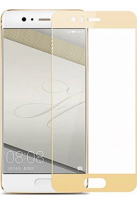 Microsonic Huawei P10 3D Kavisli Temperli Cam Ekran koruyucu Film