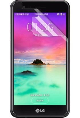 Microsonic LG K10 2017 Kavisler Dahil Tam Ekran Kaplayıcı Şeffaf Koruyucu Film
