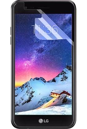 Microsonic LG K8 2017 Kavisler Dahil Tam Ekran Kaplayıcı Şeffaf Koruyucu Film