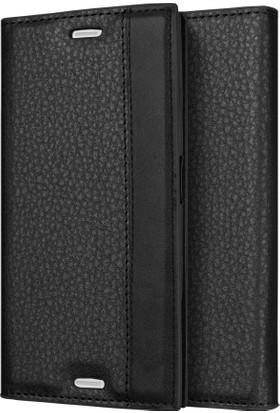 Microsonic Sony Xperia XZ Premium Kılıf Gizli Mıknatıslı Delux