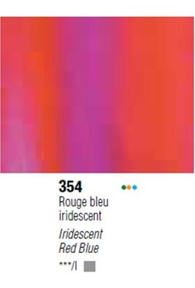 Pebeo Huile Fine Xl Yağlı Boya Dyna 37Ml No354 Iridescent Red Blue