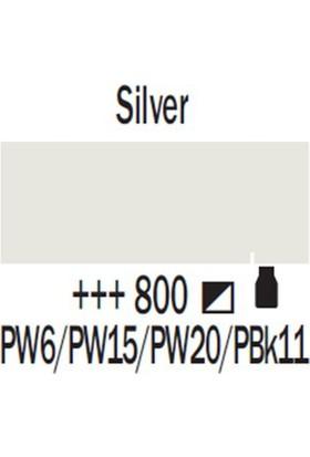 Talens Amsterdam (Metalik) Akrilik Boya 120 Ml 800 Silver
