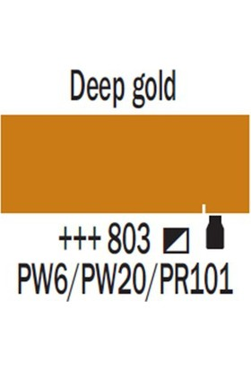 Talens Amsterdam (Metalik) Akrilik Boya 120 Ml 803 Deep Gold