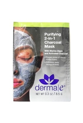 DERMA E Purifying 2 in 1 Charcoal Mask Tek
