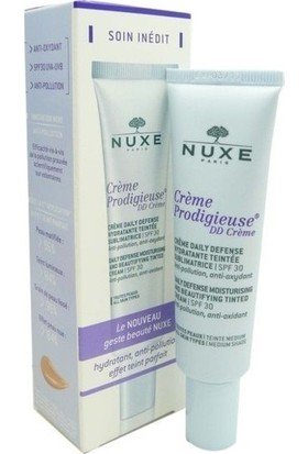 Nuxe Creme Prodigieuse Daily Defense DD Cream Spf 30 - Dark 30 ml