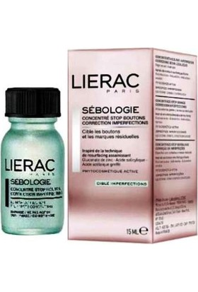 Lierac Sebologie Stop Spots Concentrate Blemish Correction 15 ml - Çift Fazlı Konsantre Bakımı